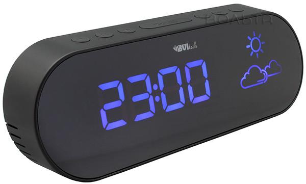 Часы будильник irit ir [будильник, датчик температуры, тип питания - батарейки].